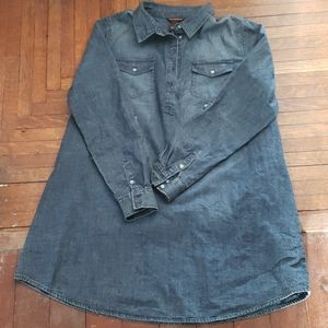 Bit & Bridel blue denim tunic L